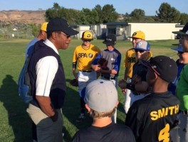 Rod Carew with Baseball Performance Academy