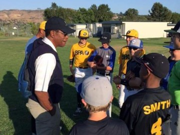 Rod Carew with Baseball Performance Academy