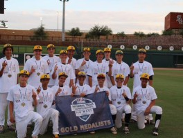 BPA DeMarini 14U takes the Gold at USA Baseball National Team Championships
