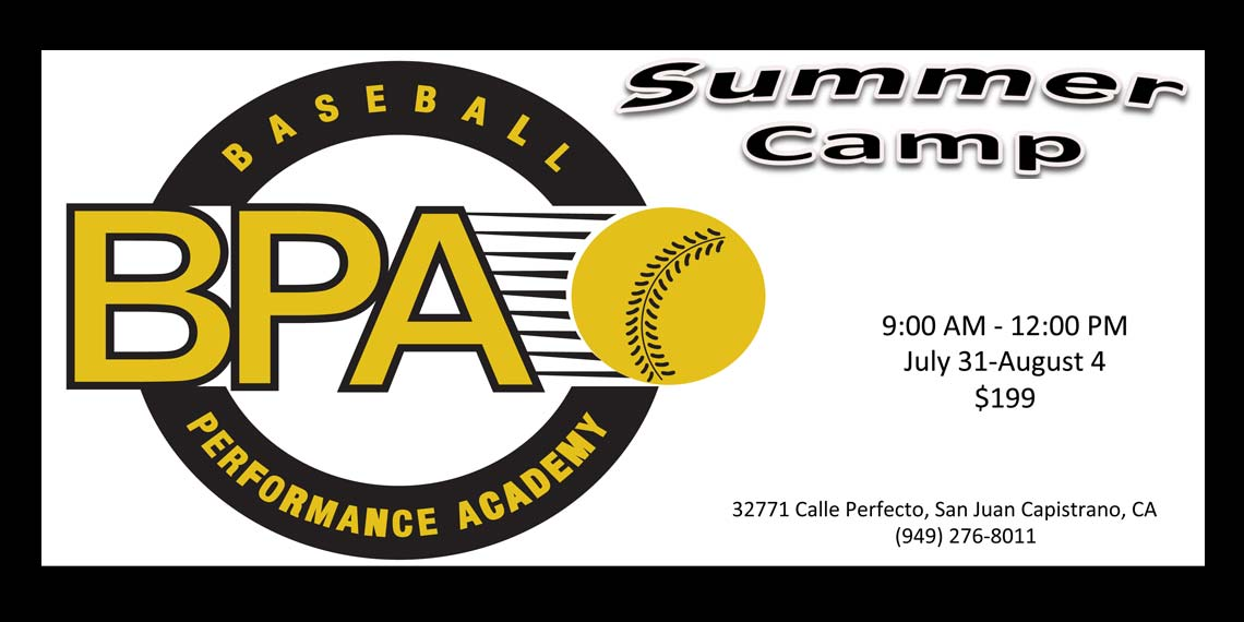 Baseball Summer Camp 2017 at BPA!